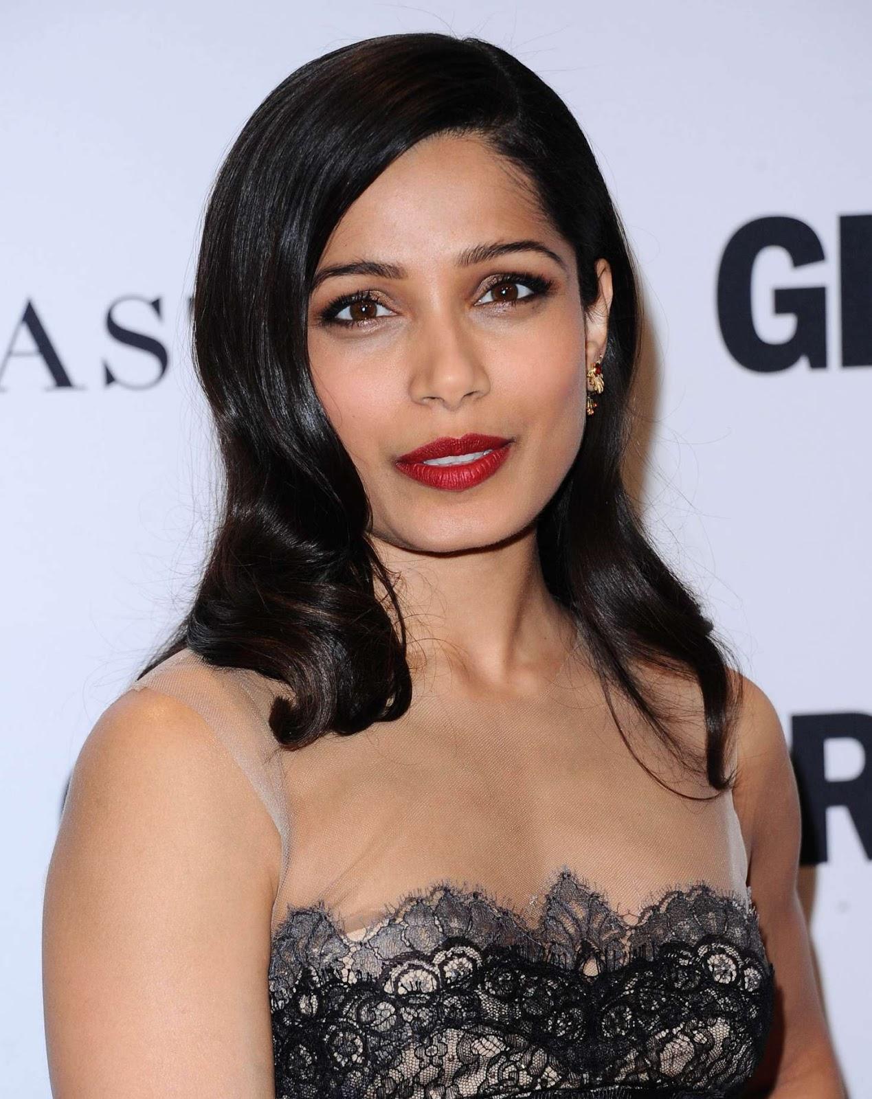 Welcome to Indian Bollywood Beauty: Slumdog Millionaire Beauty Freida Pinto Hot Bollywood Actress