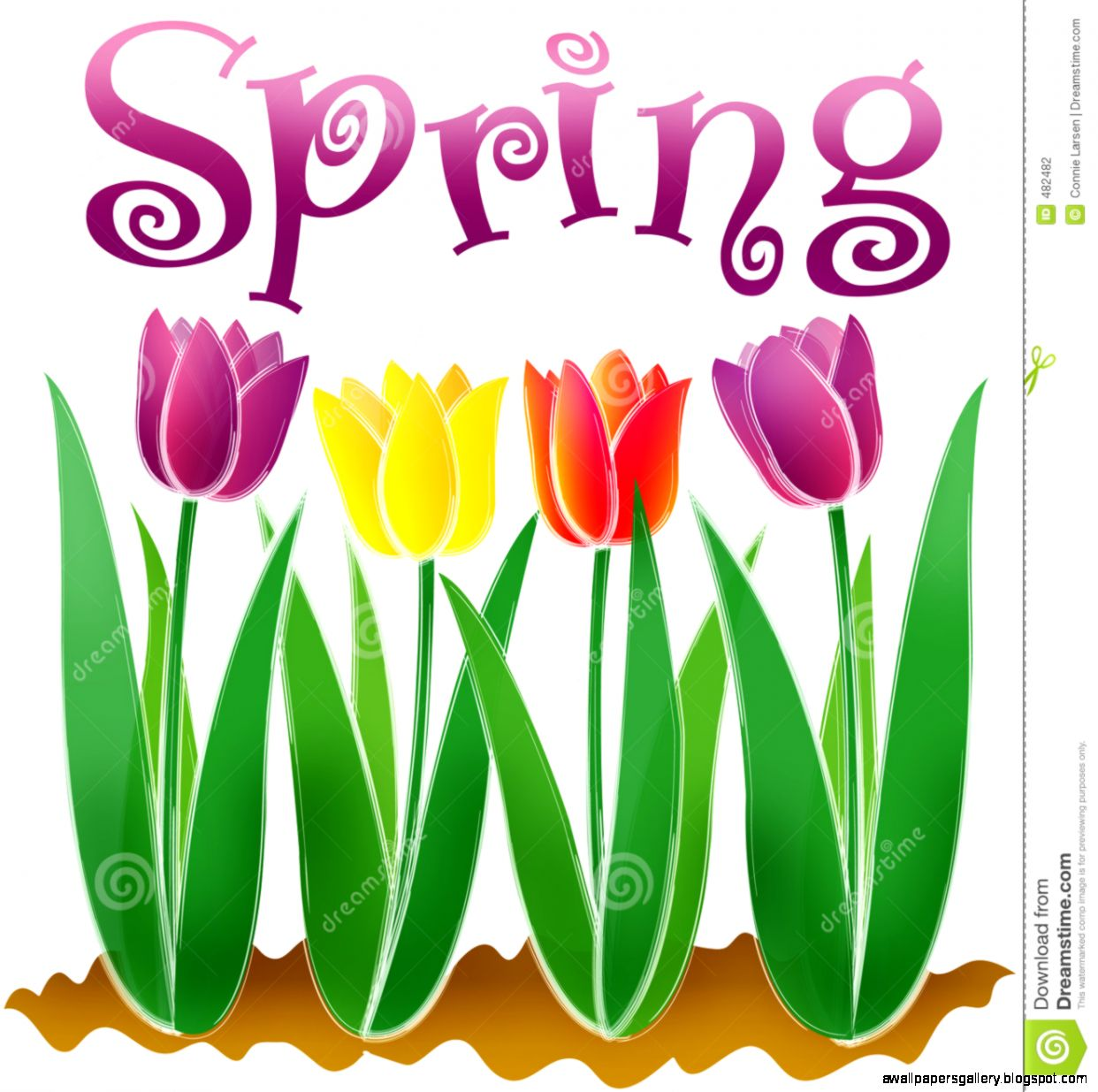 Spring Clipart | Wallpapers Gallery