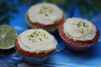 Let Her Eat Cake: Coconut & Lime Fairy Cakes