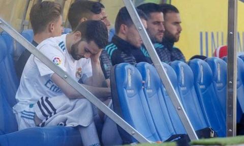 Nacho Fernandez chắc chắn vắng mặt ở trận đấu với Juventus.