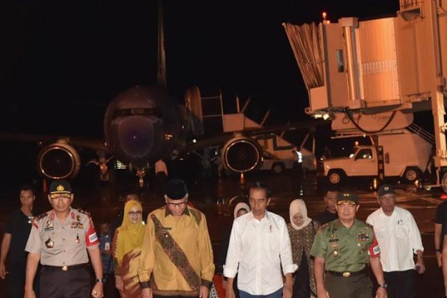 Presiden Jokowi Berkunjung ke Aceh