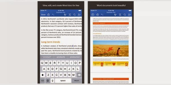 Microsoft Gratiskan Office untuk Android dan iOS