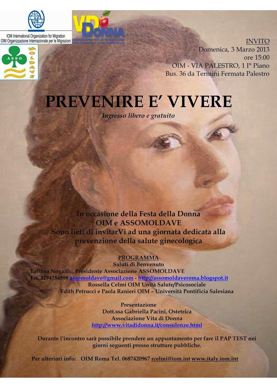 Associazione donne moldave in Italia.UOMO AVVISATO MEZZO ...
