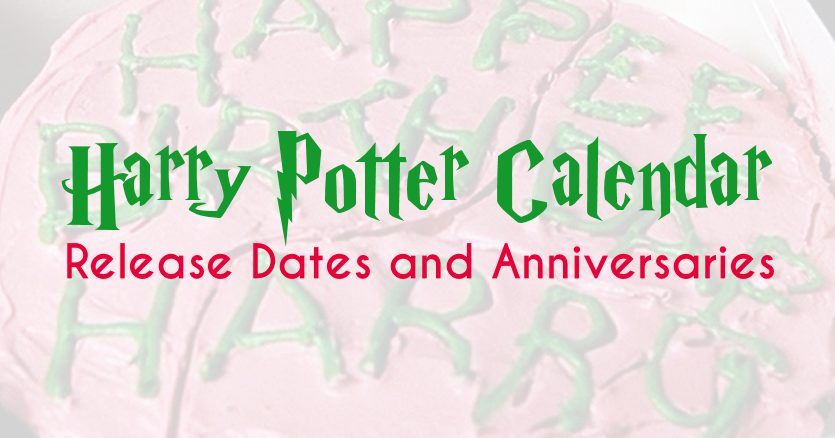 Harry potter release dates in Sydney