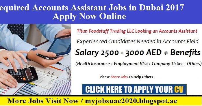 Accounts Assistant Jobs in Dubai 2017 - Myjobsuae