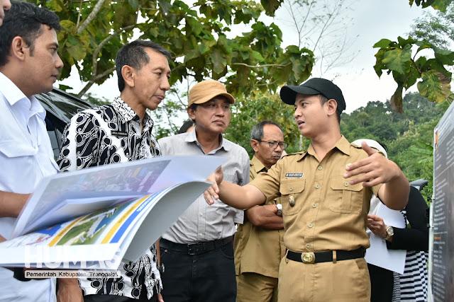 Gus Ipin : Pembangunan Bendungan Bagong Ditargetkan Selesai Tahun 2020