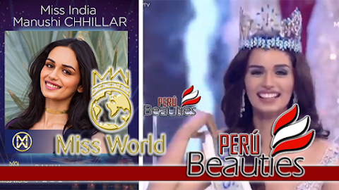 Miss World 2017 is India