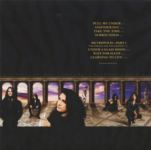 DREAM THEATER - Images And Words [Limited Release SHM-CD] Out Of Print back
