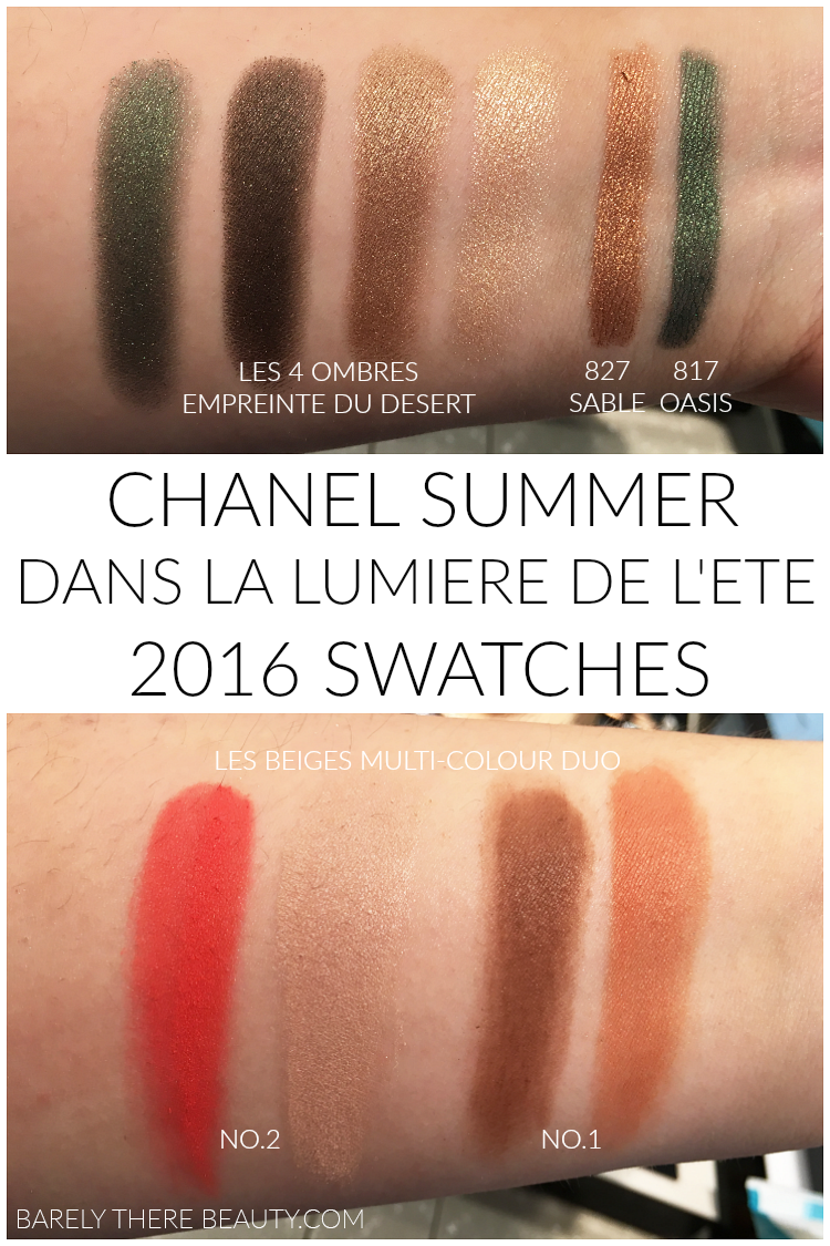 chanel-summer-2016-makeup-swatches-eyeshadow-empreinte-du-desert-sable-oasis-emeraude