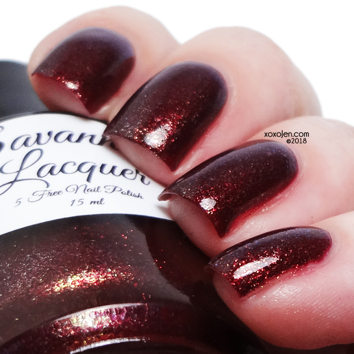 xoxoJen's swatch of Savannah Lacquer Autumnal Equinox
