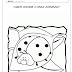 Coordenação motora fina: Pintando o inseto Joaninha