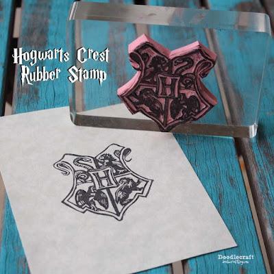 http://www.doodlecraftblog.com/2015/10/hogwarts-crest-rubber-stamp-diy.html