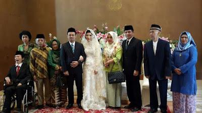 Pernikahan Mahfud Siddiq-Agatha Lily