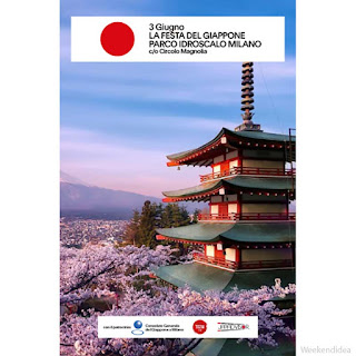 La festa del Giappone 3 giugno Segrate (MI)