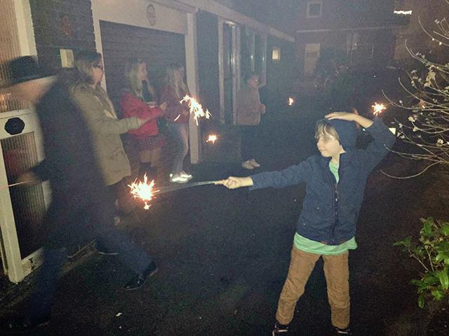 aftellen nieuwjaar 0000 vuurwerk afsteken