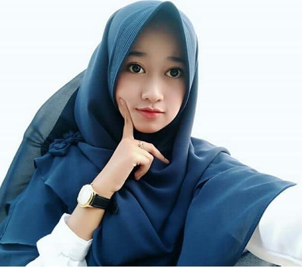 Beautiful Hijaber From Kalimantan