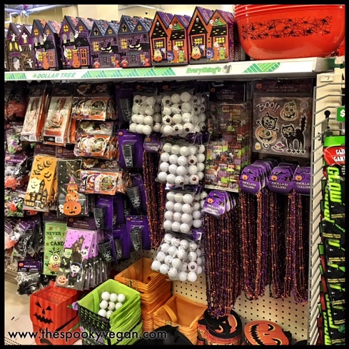 dollar tree pumpkin chair covers rv captain seat the spooky vegan halloween 2017 at eyeballs beads stickers and other odds ends