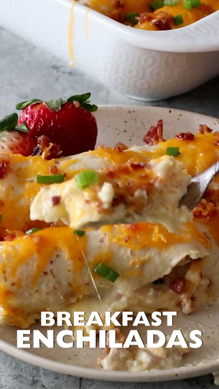Delicious Overnight Breakfast Enchiladas