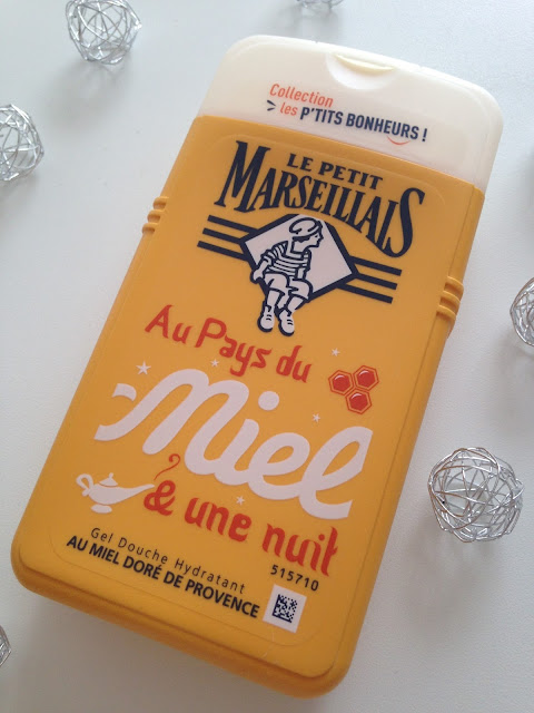 gel douche petit marseillais miel