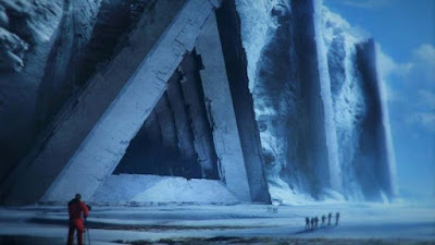 How do humans enter the under ice secret city that's been there since before mankind.