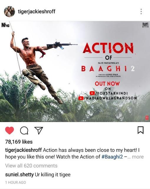 cinemawallah-Baaghi2-baaghi-Tiger-Shroff-Sajid-Nadiadwala-TigerShroff-suniel-Disha Patani-Ahmed-Baaghi2