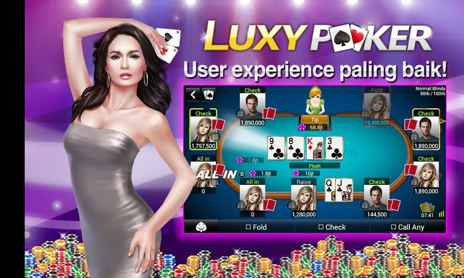 Cara Mendapatkan 3 Milyar Chip Luxy Poker Texas Holdem Gratis