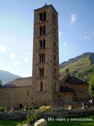 Iglesia de San Clemente de Taull, Valle de Boí (Lérida)