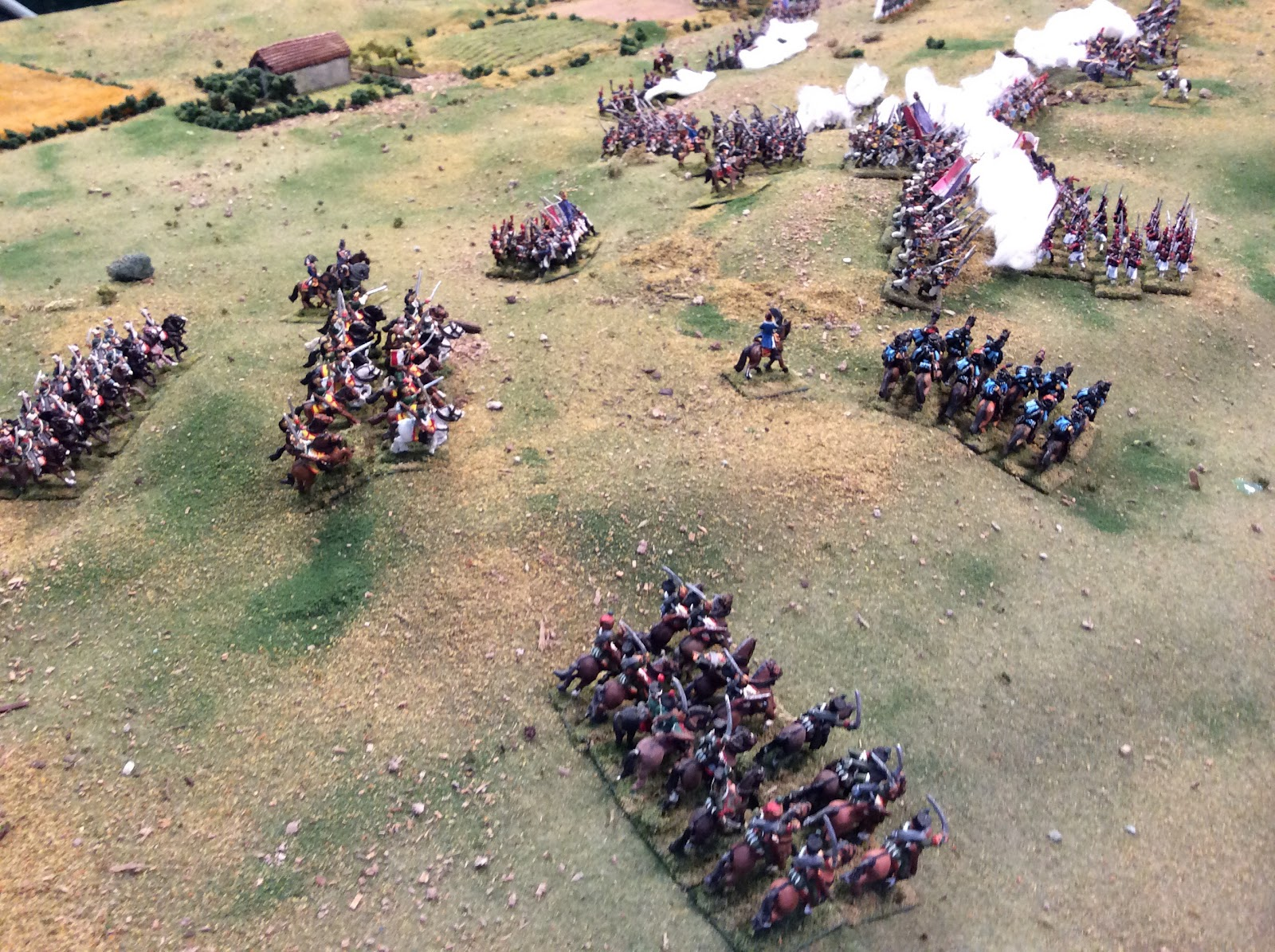 Girard'sinfantry storm the heights