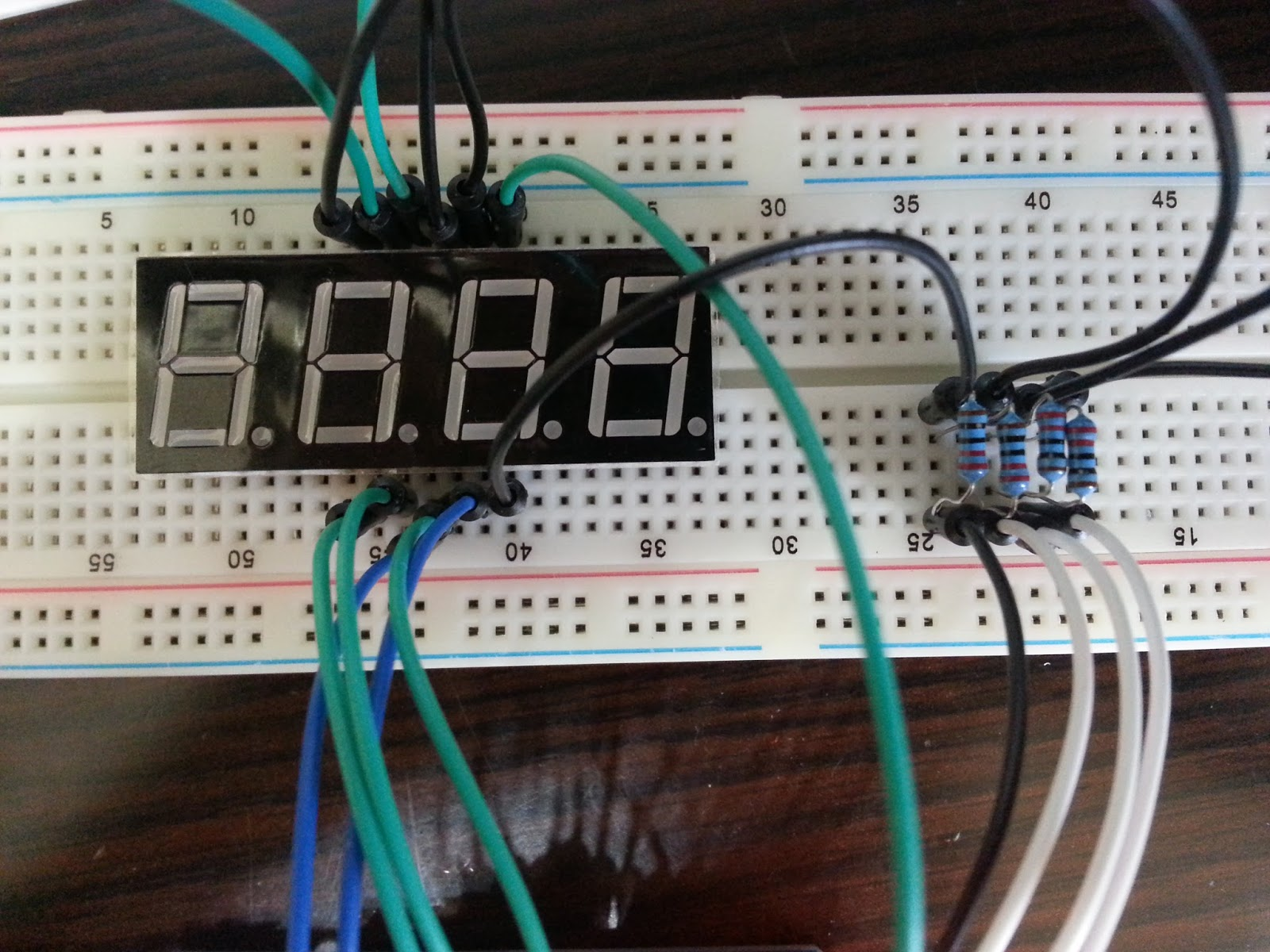 Led 7 Segment Display Circuit Guide And Troubleshooting Of Wiring Solid State Relay Z240d10 Alanh0 Research Blog Arduino 4 Digit Large