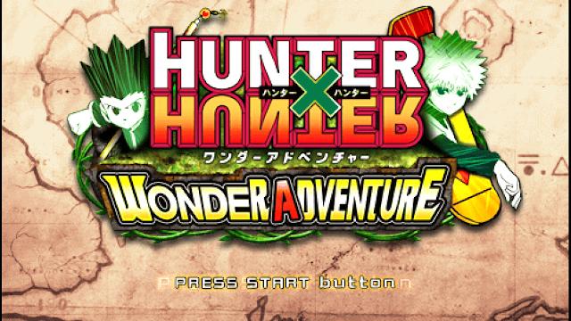 تحميل لعبة القناص Hunter x Hunter Wonder Adventure لأجهزة psp ومحاكي ppsspp