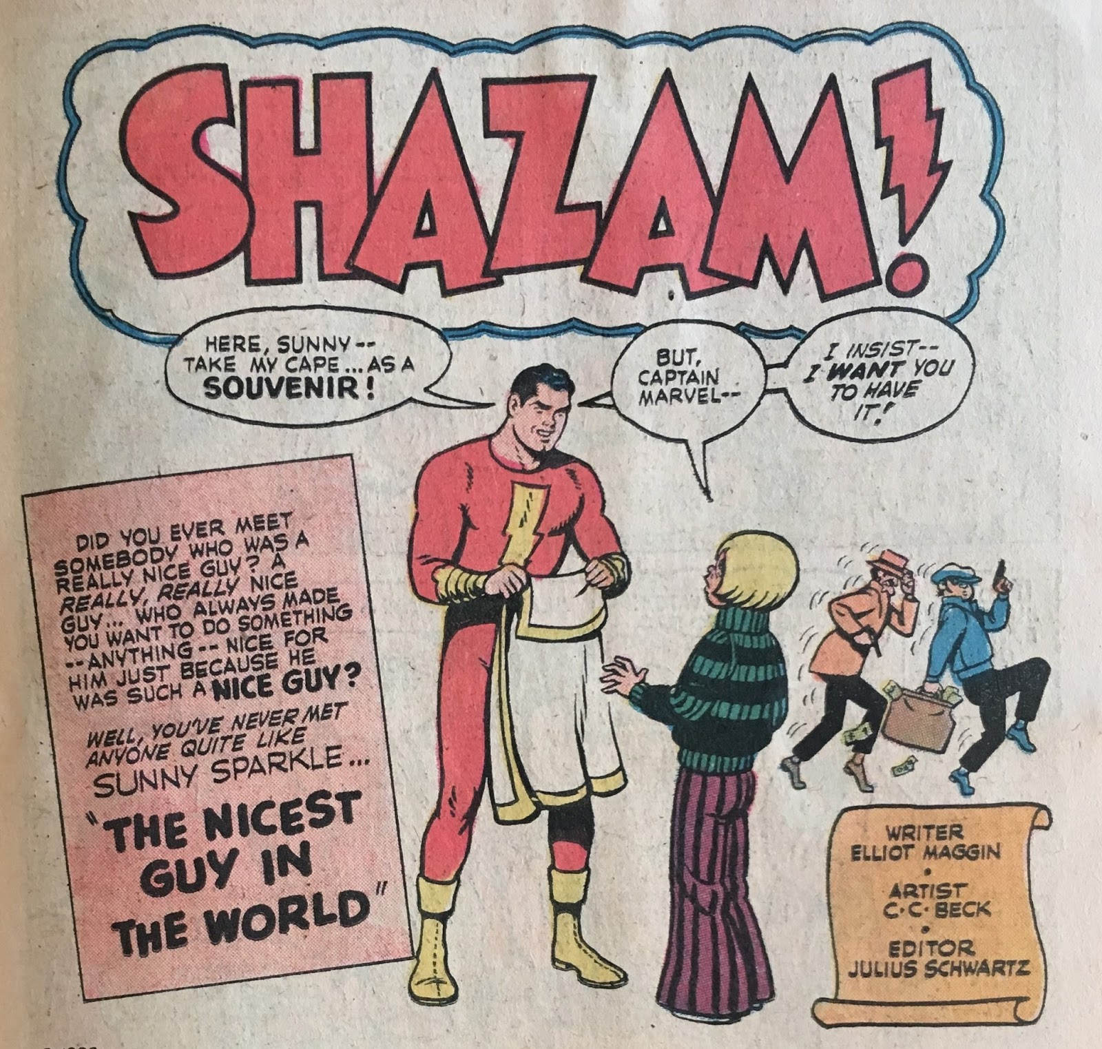 Captain Marvel's Adventures: Captain Marvel and The Nicest
