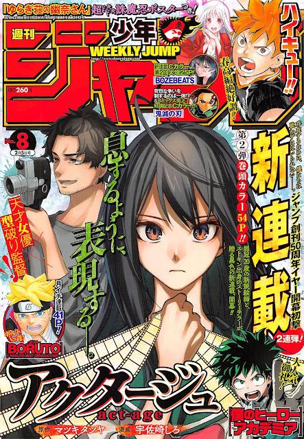 Weekly Shonen Jump octava edición del 2018