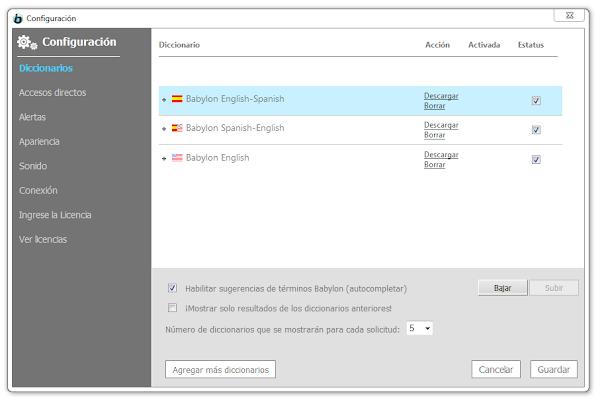 Babylon Pro & Corporate Versión 10.5 Full Español (Traductor y Diccionario)