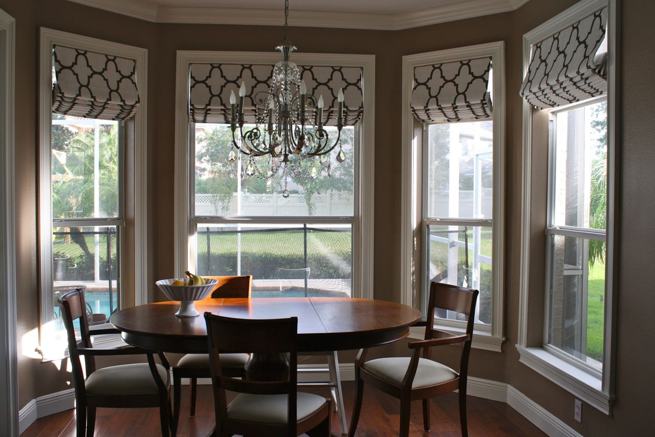 kitchen bay window treatments bars custom coverings and baby bedding andrea lynn