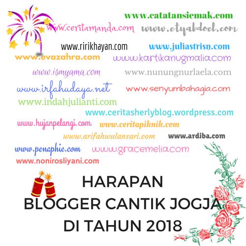 Harapan 20 Blogger Cantik Jogja di Tahun 2018