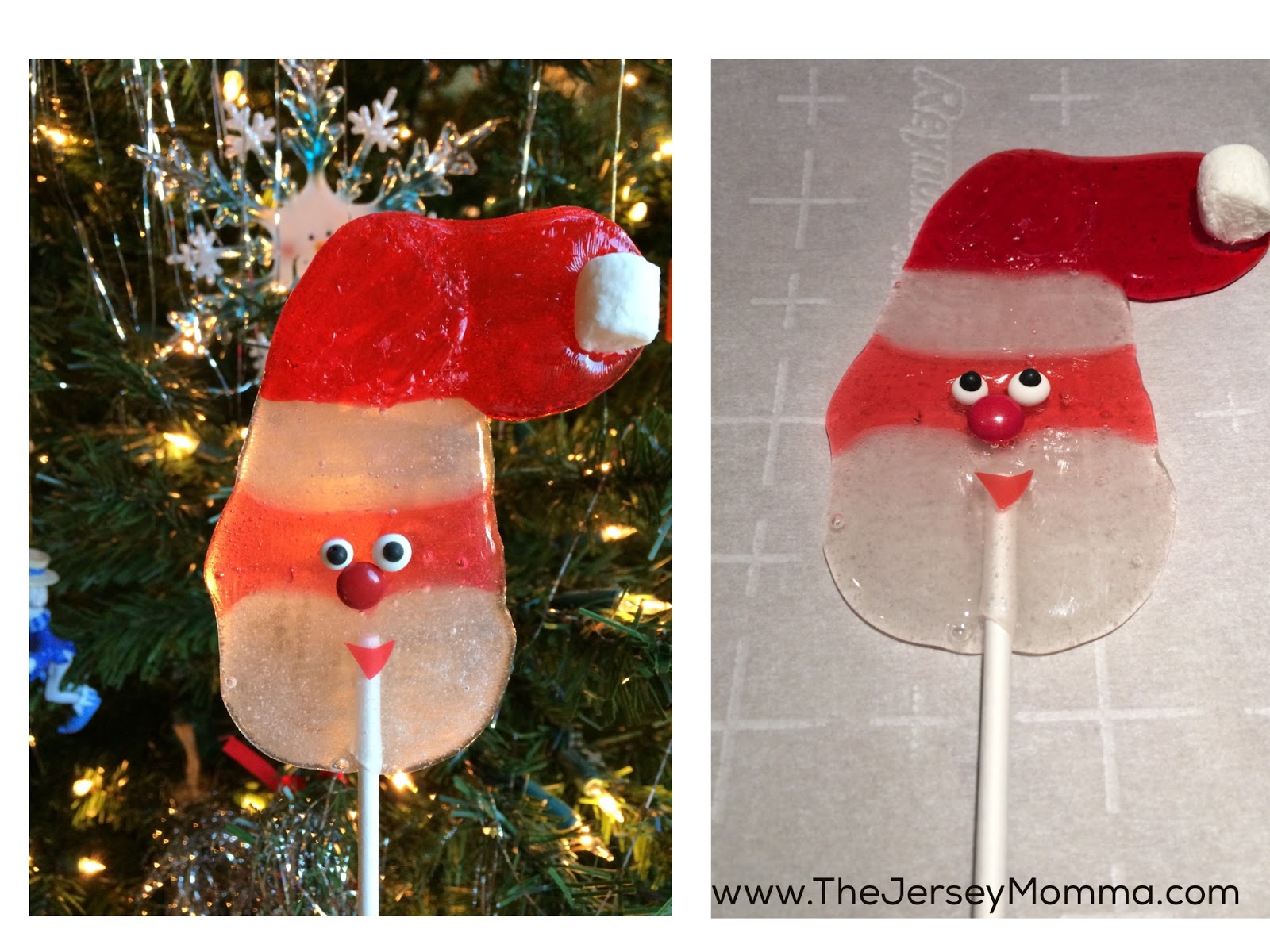 Christmas Candy Gifts.Santa Lollipops Made With Jolly Ranchers Great Christmas