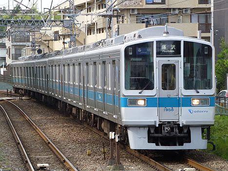 小田急電鉄 各停 藤沢行き1 1000形
