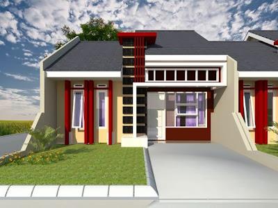 Model Rumah Minimalis 1 Lantai Terbaru 2017