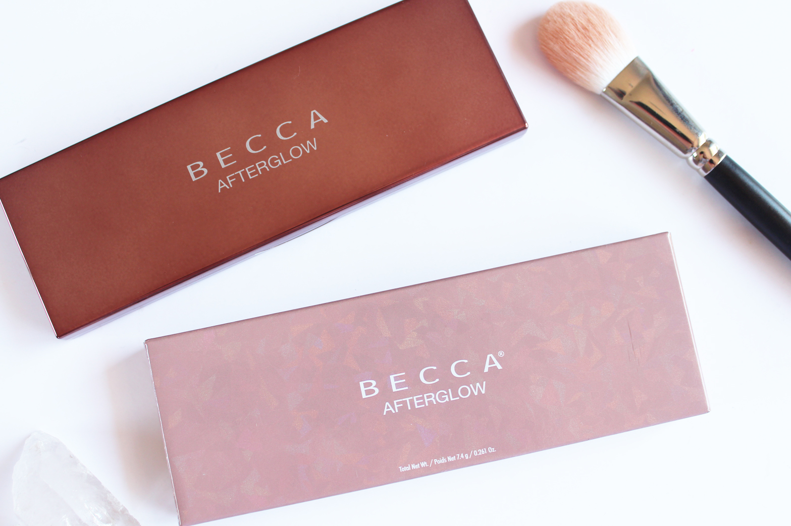 BECCA COSMETICS | Afterglow Palette - Review + Swatches - CassandraMyee