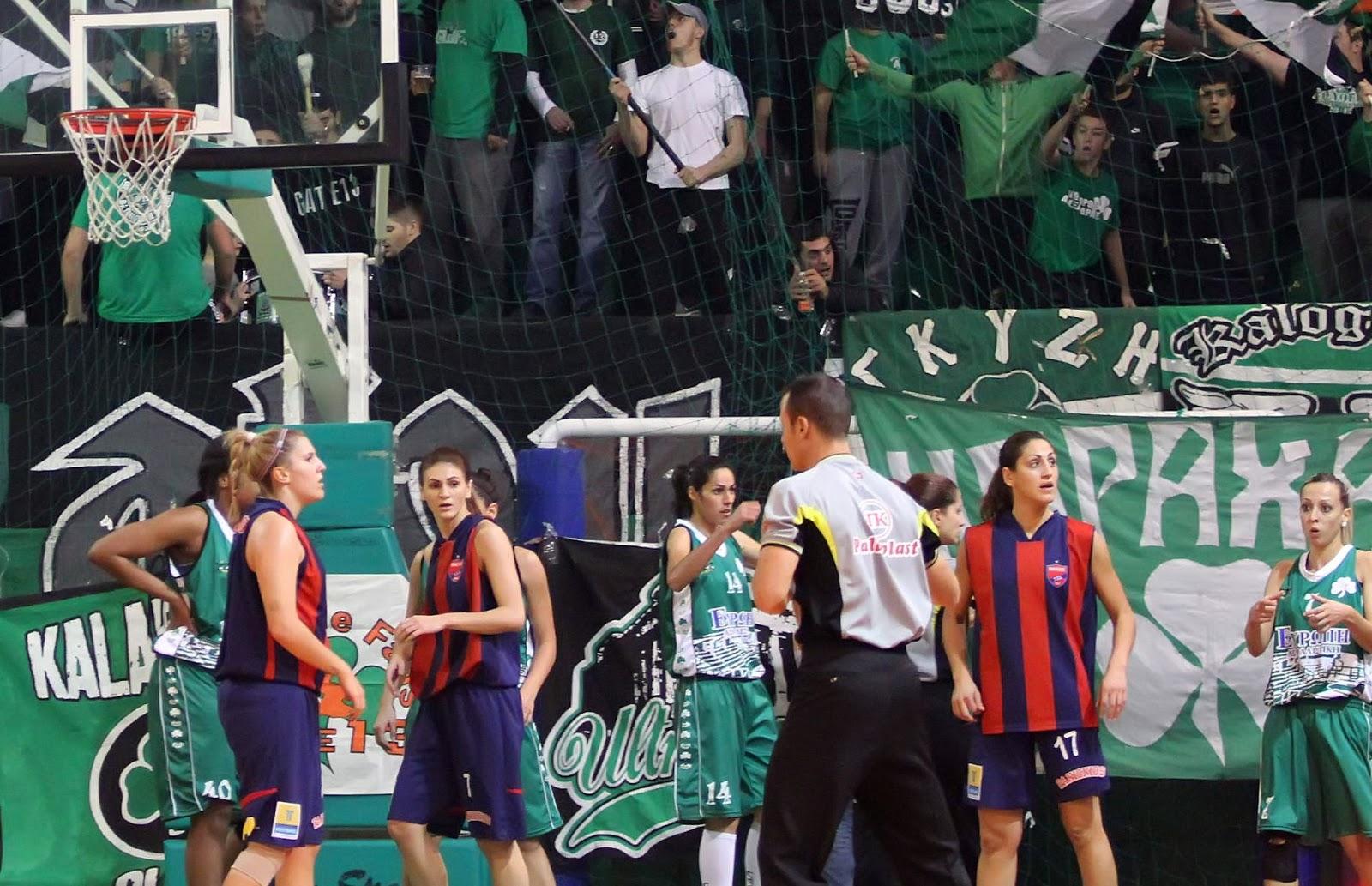 παο μπασκετ Image: Μπάσκετ Γυναικών: Ήττα-συντριβή από τον ΠΑΟ!