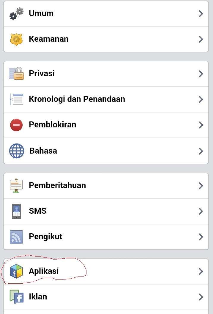 Step 2 Cara menghapus spam Facebook siapalihat.com