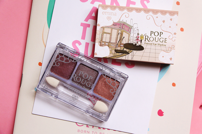 Vani Sagita Emina Cosmetics Pop Rouge Pressed Eyeshadow Romantic