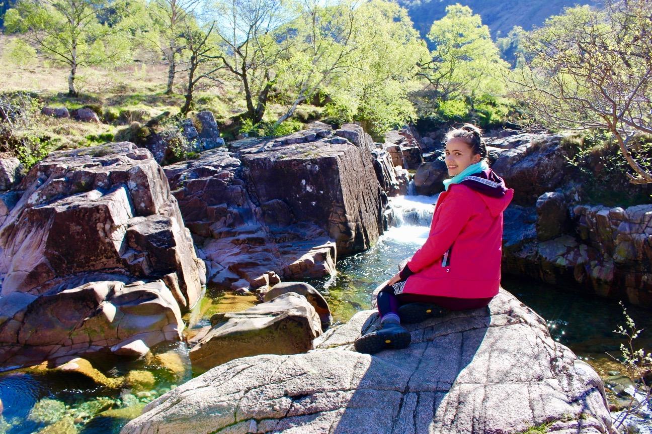 Lower Falls Hike near Ben Nevis