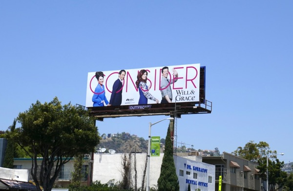 Consider Will & Grace 2018 Emmy billboard