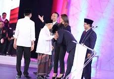 Man of the Match Debat Pertama Pilpres 2019 - oleh Balya Nur