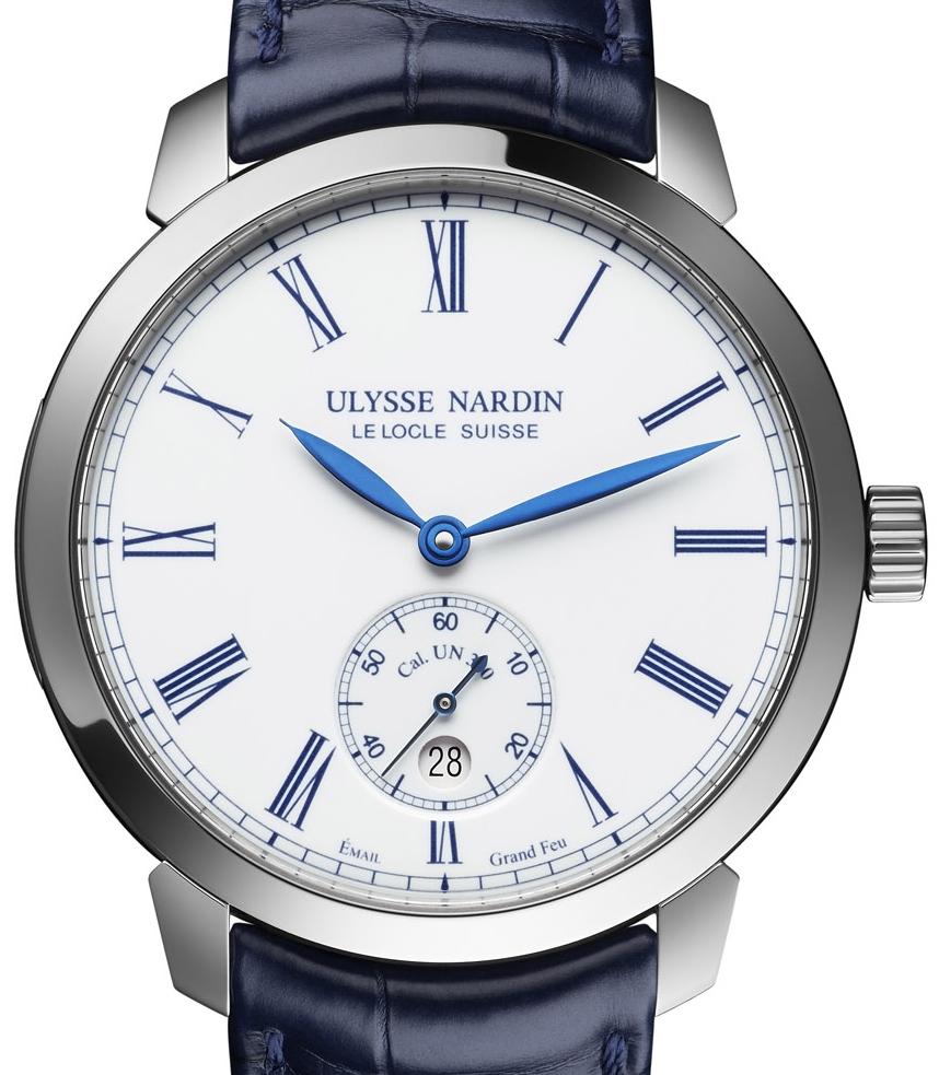 j 39 aime les montres la montre du jour ulysse nardin classico manufacture. Black Bedroom Furniture Sets. Home Design Ideas