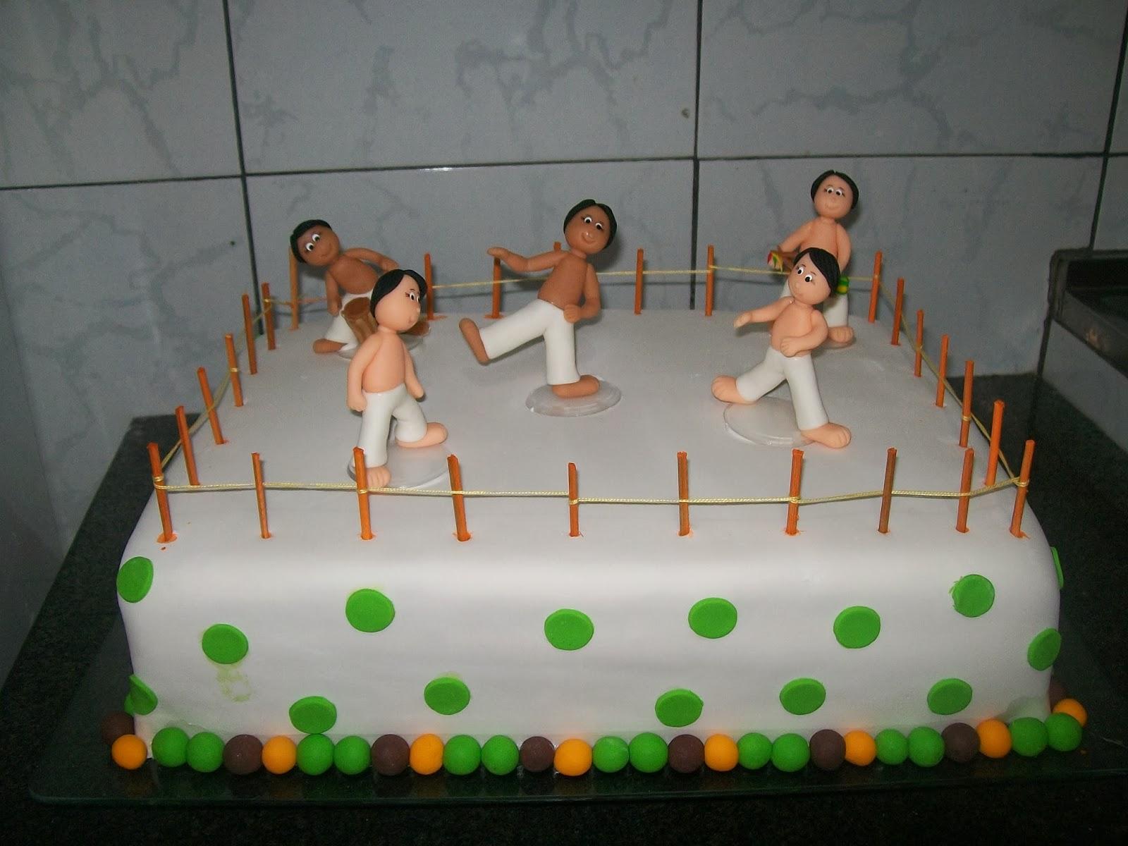 Arte Em Bolos Carmelia Bolo Capoeira