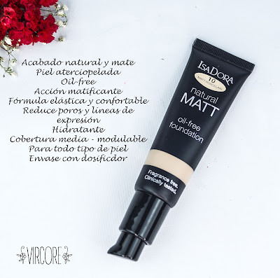 Natural Matt oil-free Foundation