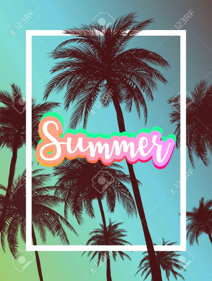 Summer Party Tumblr Room Wallpapers