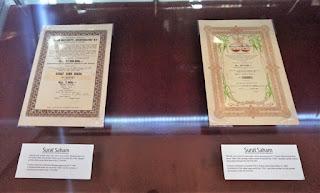 surat saham museum mandiri